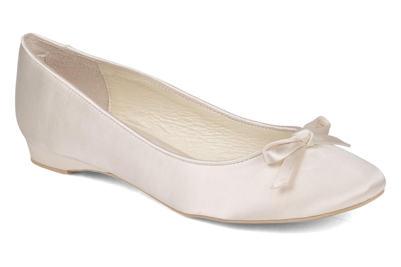 zapato de novia membur bailarina con lazo