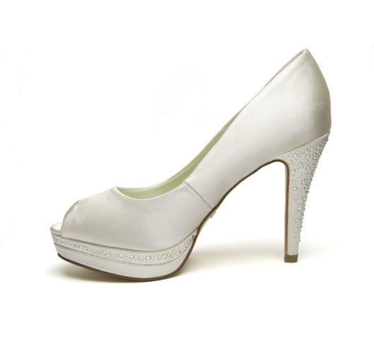 zapato de novia membur strass