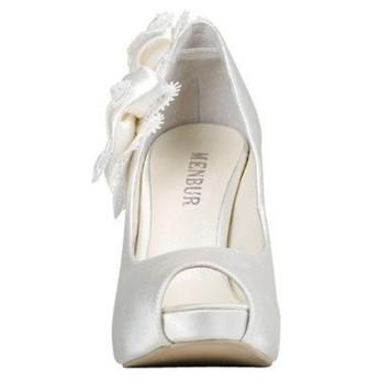 zapato novia menbur-lazo lateral 4344