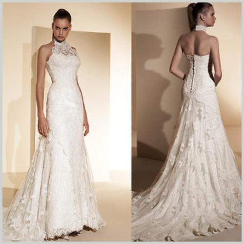 escote halter en los vestidos de novia innovias | innovias