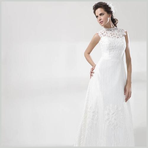 tejidos de novia innovias: el encaje guipur en los vestidos de novia