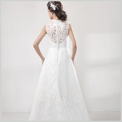 Vestidos novia botones delanteros