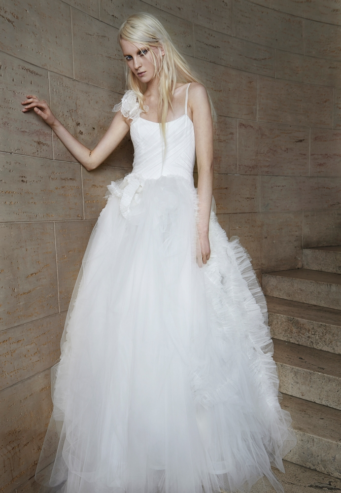 Los 5 vestidos de novia primavera 2015 de Vera Wang favoritos de Innovias. (1/6)