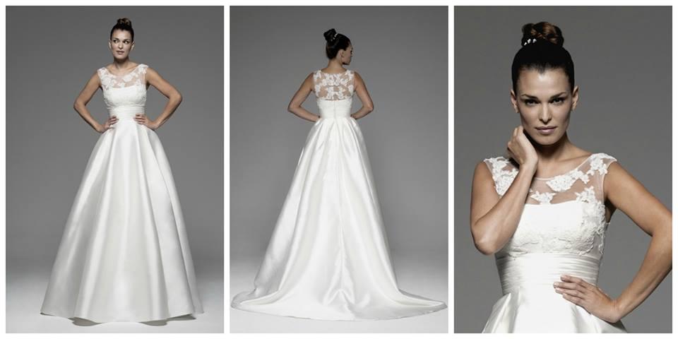 Precio de vestido de novia alquilado