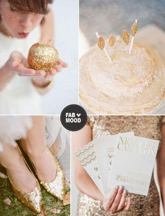 boda en glitter y lentejelas