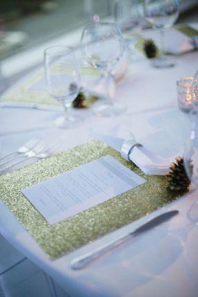 menu glitter