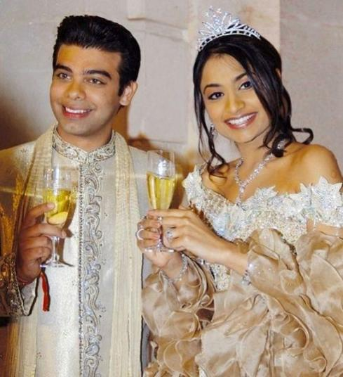 Vanisha Mittal y Amit Bhatia
