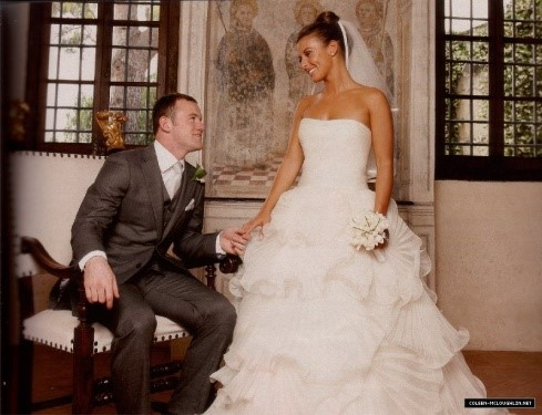 Wayne Rooney y Coleen McLoughlin
