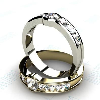 anillo compromiso curve diamantisimo
