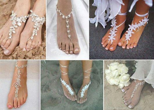 adornos joya boda playa