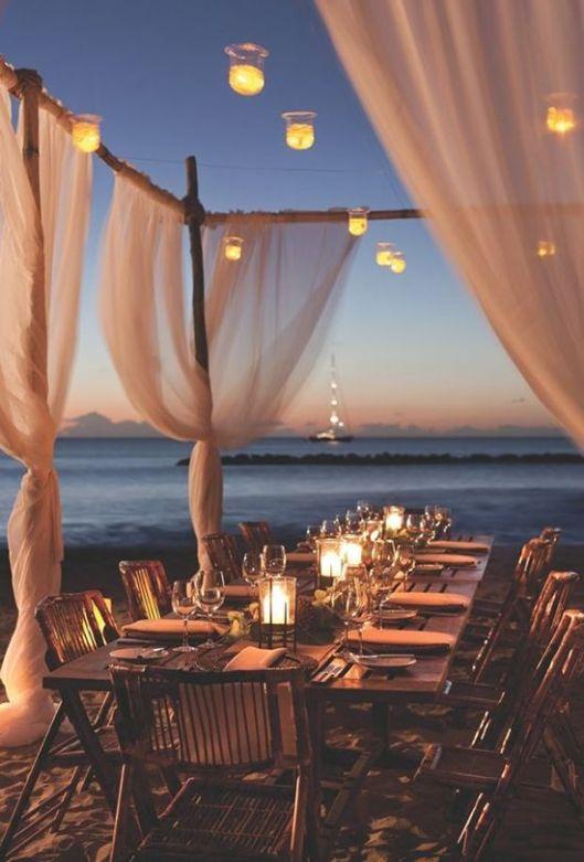boda playa noche innovias