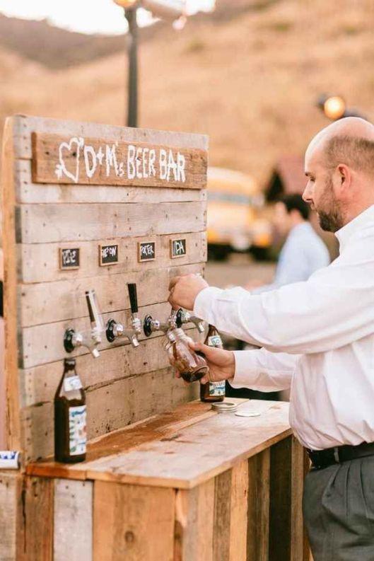 carrito de cervezas