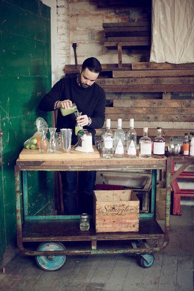 carrito gin tonic