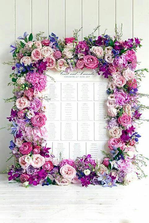 panel ivitados romántico