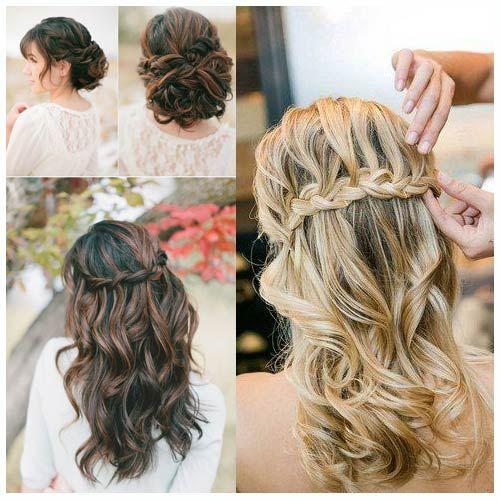 peinados de novia trenzas