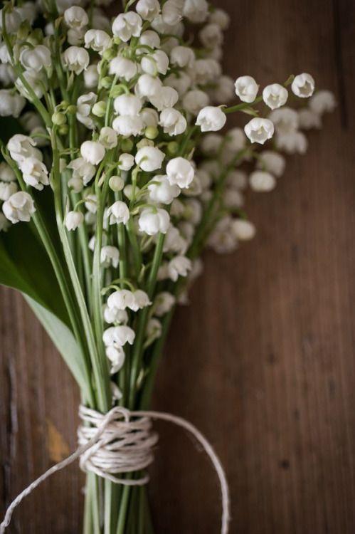 ramo de novia con muguet