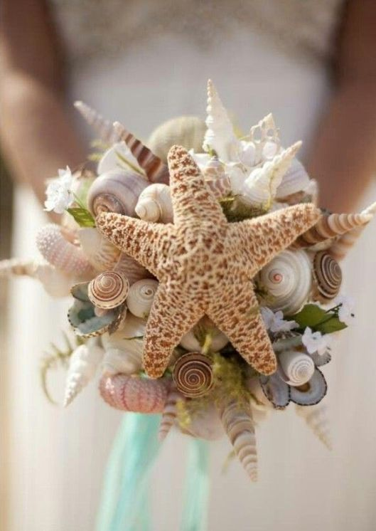 ramo de novia estrella de mar innovias