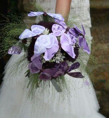 ramo de novia mariposas1