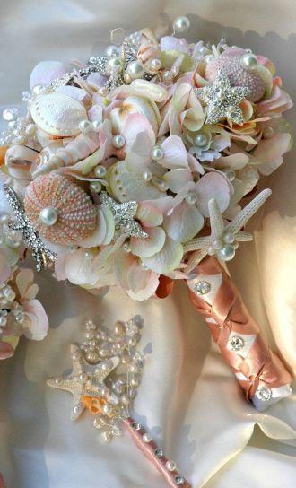 ramo joya con detalles marinos