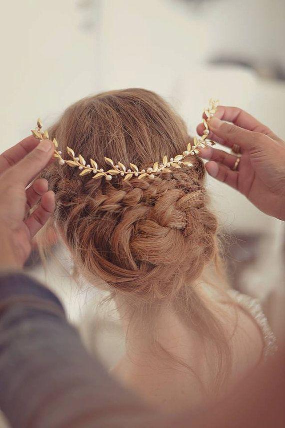 Peinados recogidos con trenzas 2015