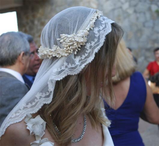 velo de novia juliet cap