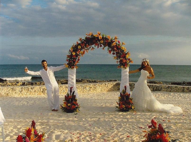 Matrimonio Catolico En La Playa : Ideas innovias para una boda en la playa