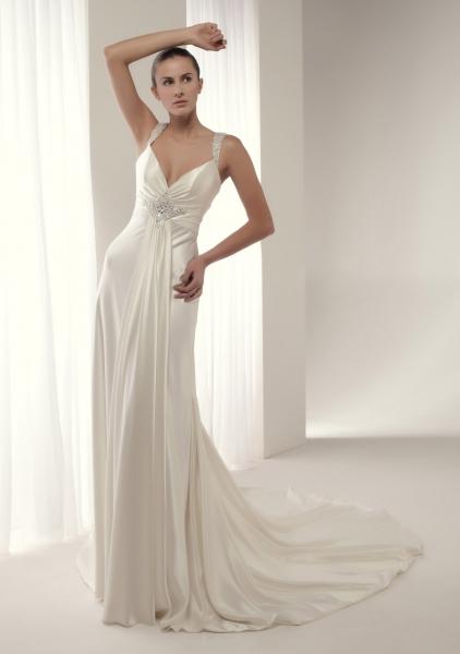 Zapatos de novia de seda y satén elegantes KcWor6gPx