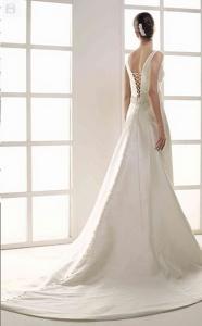 Vestido de novia Innovias modelo Area.