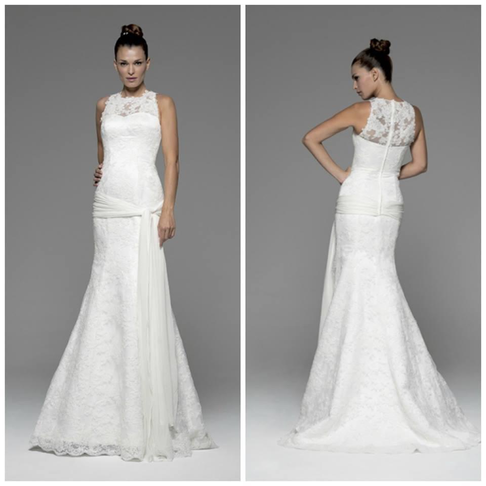 Tipos de cola en los vestidos de novia, los más espectaculares de ...