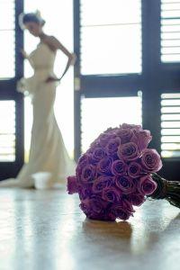 Bouquet de rosas. Vía Pinterest.