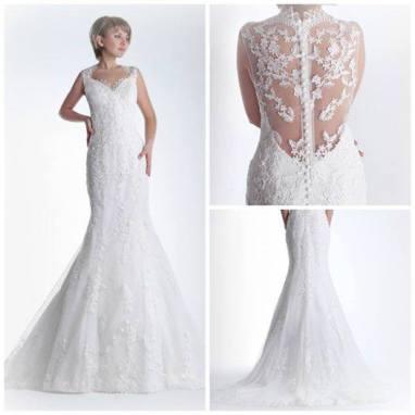 Vestido de novia en alquiler Celena de Innovias