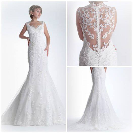 33402e744 Astrid innovias renta vestidos novia Vestido de novia en alquiler Astrid de  Innovias con cola capilla.    . celena vestido novia renta innovias