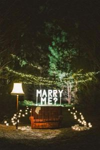 ¿Quieres casarte conmigo? Detalles de pedidas de mano originales. Imagen vía Pinterest.