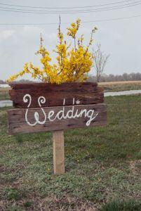 Detalles de boda. Vía Pinterest.