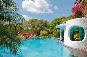 Espectacular hotel en Costa Rica. Vía Pinterest.