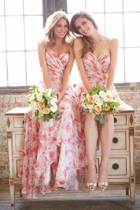 Vestidos de damas de honor para playa
