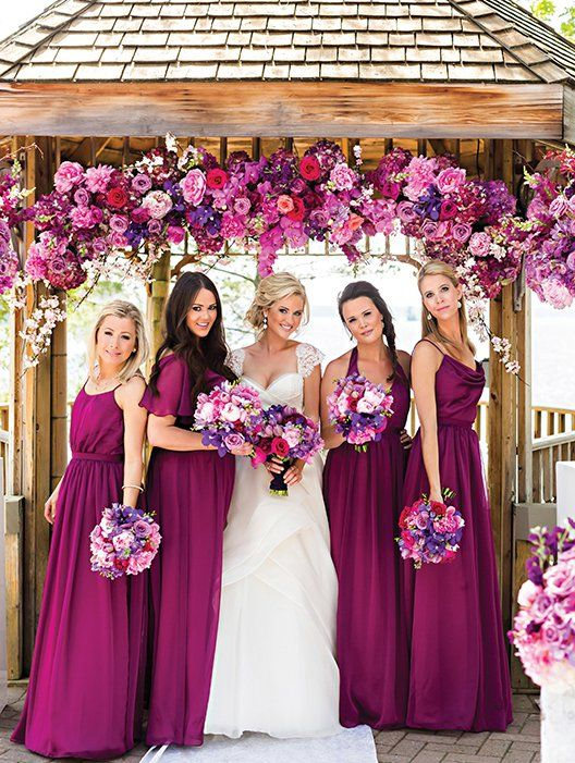 Vestidos de novia y damas