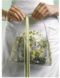 Especial bolso bouquet de margaritas. Vía Pinterest.