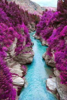 Shotover River New Zeland. Vía Pinterest.