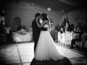 Esperado momento del baile de los novios. Vía Pinterest.