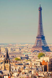 París y su Torre Eiffel. Vía Pinterest.