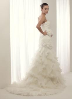Vestido Amura de la colección Sirena Fashion.