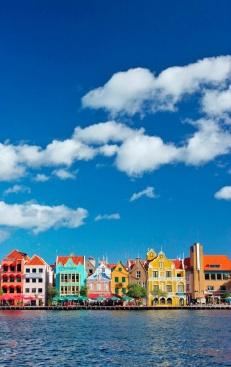 Curaçao en las Antillas Holandesas. Cultura y playas. Vía Pinterest.