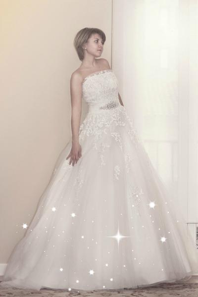 El vestido de novia en alquiler Calista de Innovias