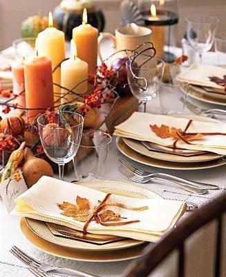 centro de mesa boda otoño
