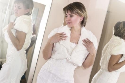 chaqueta de novia