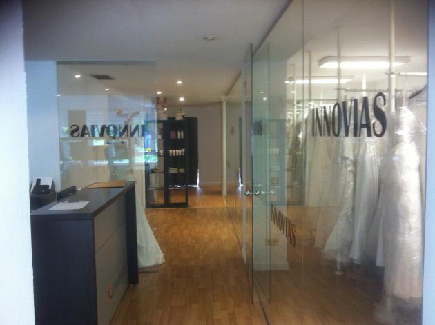 Entrada tienda Innovias de Madrid