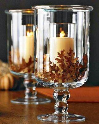 velas para boda otoño