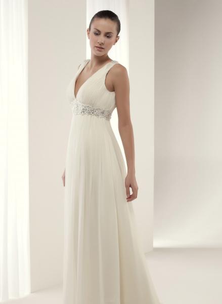 Vestidos corte griego novia