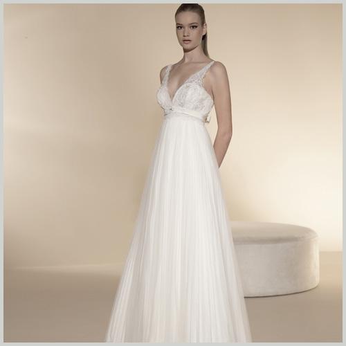vestidos de novia para embarazadas   innovias